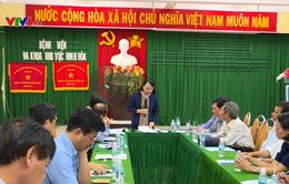 Bộ Y tế kiểm tra việc khắc phục bão lũ tại Nam Trung Bộ