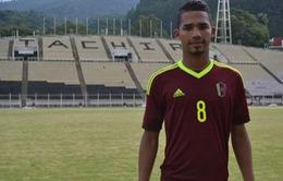"""Ông chủ Man City """"thèm khát"""" sao trẻ 19 tuổi người Venezuela"""