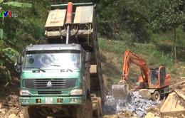 Yên Bái: 62 công trình giao thông bị hư hại do mưa lũ