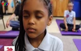 Tập Yoga giúp trẻ tập trung cao, kiểm soát cảm xúc tốt hơn