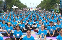 Hòa mình với thiên nhiên trong ngày quốc tế yoga lần thứ 3