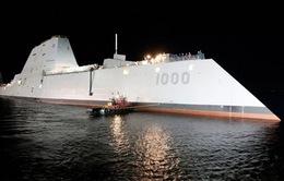 Mỹ đề xuất triển khai tàu khu trục mới ở Hàn Quốc