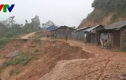 Nhiều khu dân cư ở Quảng Nam có nguy cơ sạt lở