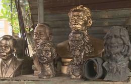 """Ấn tượng các tác phẩm điêu khắc của """"chàng trai 8x"""" Quảng Nam"""