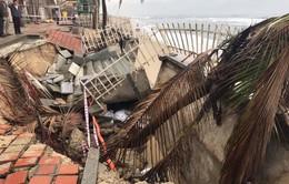 Sạt lở nghiêm trọng các bãi biển của TP. Đà Nẵng