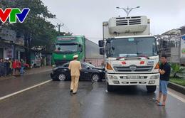 Tai nạn ô tô liên hoàn tại Đông Hà, Quảng Trị