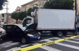 Mỹ: Xe tải lao vào người đi bộ tại San Francisco
