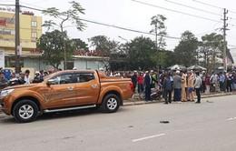 Ô tô tông 6 người bị thương tại hiện trường vụ tai nạn