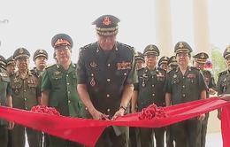 Khánh thành trụ sở quân đội Campuchia do Việt Nam viện trợ
