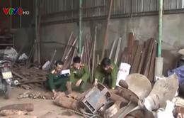 Thừa Thiên Huế phát hiện đạn và vỏ đạn tại cơ sở mua bán phế liệu