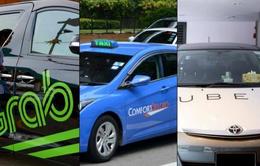 Đề xuất dùng chung biển số màu vàng cho taxi, Uber và Grab