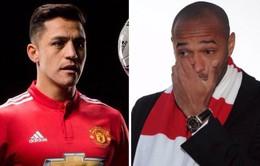 """Henry phân trần trước """"nghi án"""" khuyên Sanchez rời Arsenal"""