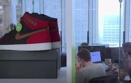 Sàn giao dịch giày thể thao tại Detroit