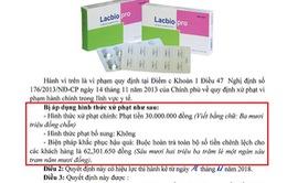 Bộ Y tế mạnh tay xử lý hành vi nâng giá bán thuốc sai quy định
