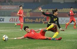 Tranh hạng 3 VCK U23 châu Á 2018: U23 Qatar - U23 Hàn Quốc (15h00, trực tiếp trên VTV6)