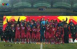VIDEO: Tổng hợp diễn biến trận tranh hạng 3 U23 Qatar 1-0 U23 Hàn Quốc