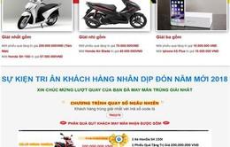 700 tên miền điện tử lừa đảo khách hàng dịp Tết Nguyên đán 2018