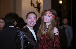 Diễn viên Cyrielle Joelle diện áo dài của NTK Đỗ Trịnh Hoài Nam