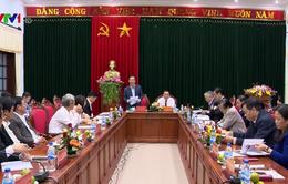 Trưởng ban Tuyên giáo Trung ương Võ Văn Thưởng làm việc với Ban Thường vụ Tỉnh ủy Quảng Trị