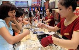 Giá vàng SJC tăng 290.000 đồng mỗi lượng so với phiên đầu tuần