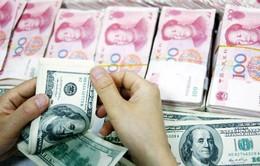 Đồng Nhân dân tệ chạm mức cao nhất 27 tháng so với đồng USD