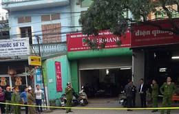 Điều tra vụ cướp gần 2 tỷ tại PGD Agribank Dĩnh Kế, Bắc Giang