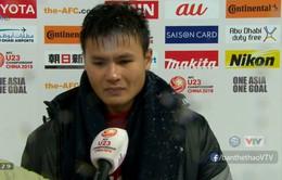 U23 châu Á 2018: Quang Hải không giấu được nước mắt tiếc nuối