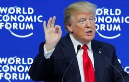 Tổng thống Donald Trump khẳng định ủng hộ thương mại tự do nhưng sẽ đặt nước Mỹ trên hết