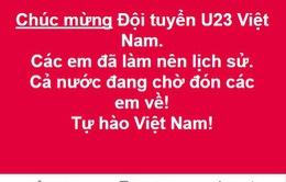"""Dàn MC VTV nhắn gửi yêu thương đến """"những người hùng"""" U23 Việt Nam"""