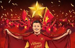 Thăng hoa ở giải U23 châu Á, U23 Việt Nam được CĐV khắp thế giới mến mộ