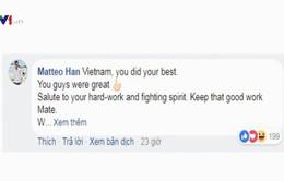 Màn trình diễn của U23 Việt Nam thuyết phục truyền thông thế giới
