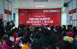 1.200 em nhỏ ở Hưng Yên được khám sàng lọc tim bẩm sinh