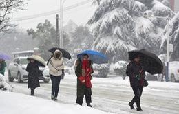 Miền Đông và miền Trung Trung Quốc rối loạn do băng tuyết