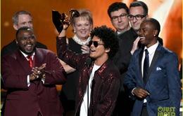 Grammy 2018: Bruno Mars đại thắng, Jay-Z trắng tay