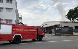 Cháy lớn tại công ty may ở Bình Dương