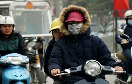 Ngày 29/1, trời rét đậm, không khí lạnh tiếp tục ảnh hưởng đến Trung Trung Bộ