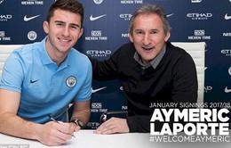 Chuyển nhượng bóng đá quốc tế ngày 30/01/2018: Laporte chính thức về Man City với giá kỷ lục