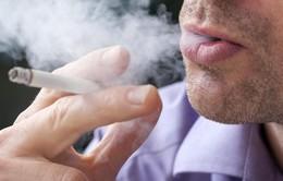 Hút 1 điếu thuốc/ngày tăng 50% nguy cơ đột quỵ