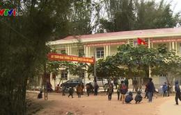 Học sinh vùng cao Hà Giang nghỉ học vì giá rét
