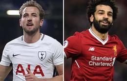 Trước vòng 25 Ngoại hạng Anh: Salah và Kane hướng tới kỷ lục