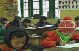Lào Cai tăng cường phòng chống rét cho học sinh và người dân
