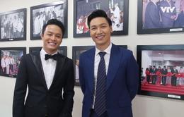 Bộ đôi soái ca Hồng Đăng - Mạnh Trường chúc Tết khán giả Truyền hình