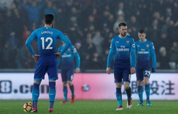 Vòng 25 giải Ngoại Hạng Anh: Arsenal thua sốc Swansea trong ngày ra mắt Mkhitaryan