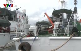 Vùng Cảnh sát biển 2 tăng cường chống buôn lậu trên biển dịp Tết