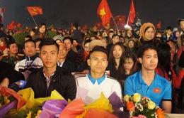 Tỉnh ủy Nghệ An chào đón các cầu thủ U23 Việt Nam - Công Phượng, Xuân Mạnh, Văn Đức