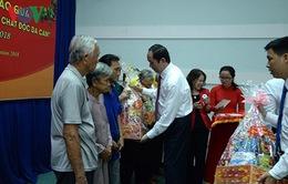 Chủ tịch nước trao quà Tết cho người nghèo huyện Củ Chi - TP.HCM