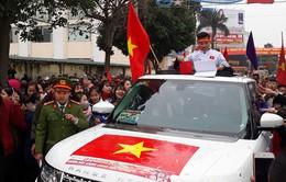 Tỉnh Thái Bình chào đón tuyển thủ U23 Việt Nam - Đoàn Văn Hậu