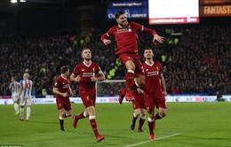 Vòng 25 giải Ngoại Hạng Anh: Liverpool dễ dàng giành 3 điểm trước Huddersfield