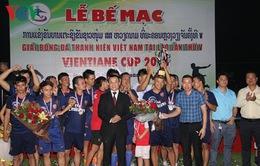 Bế mạc Giải bóng đá thanh niên Việt Nam tại Lào lần thứ 5