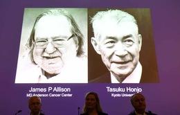 Giải Nobel Y học 2018 thuộc về nghiên cứu liệu pháp điều trị ung thư